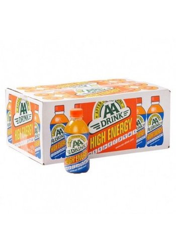 AA DRINK AA Drink High Energy Orange  24 x 330ml