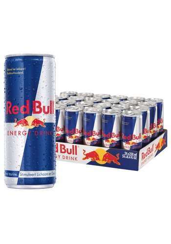 Red Bull Red Bull Energy drink regular - 24 x 25cl