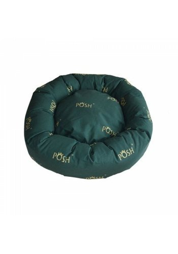 Posh Donut honden of kattenmand groen 71cm