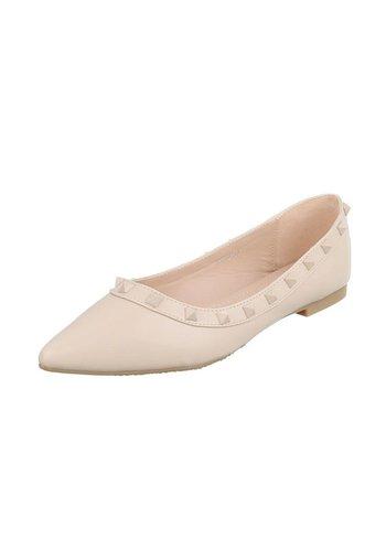 Neckermann Damen Ballerinas - beige