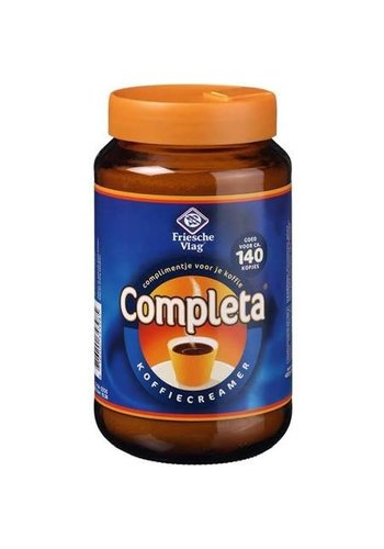 Friese Vlag Friesche Vlag creamer/Completa - 440 gram pot - met doseerdeksel