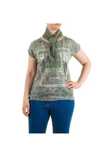 Neckermann Dames Shirt One Size Khaki