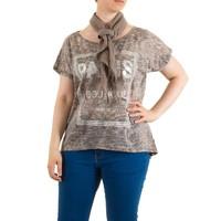 Damen Bluse Gr. one size - brown