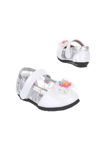XIAOJIAXIN Kinder Ballerinas - white