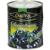 Zwarte Olijven met pit in blik - 400 gram