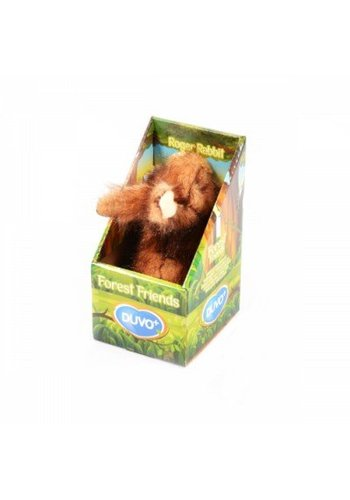 Duvo Forest friends Roger het konijn 16x8 cm