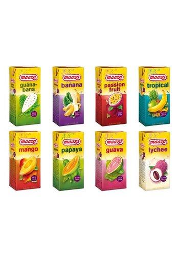 Maaza Vruchtensappen - 6 pakken x 1 liter