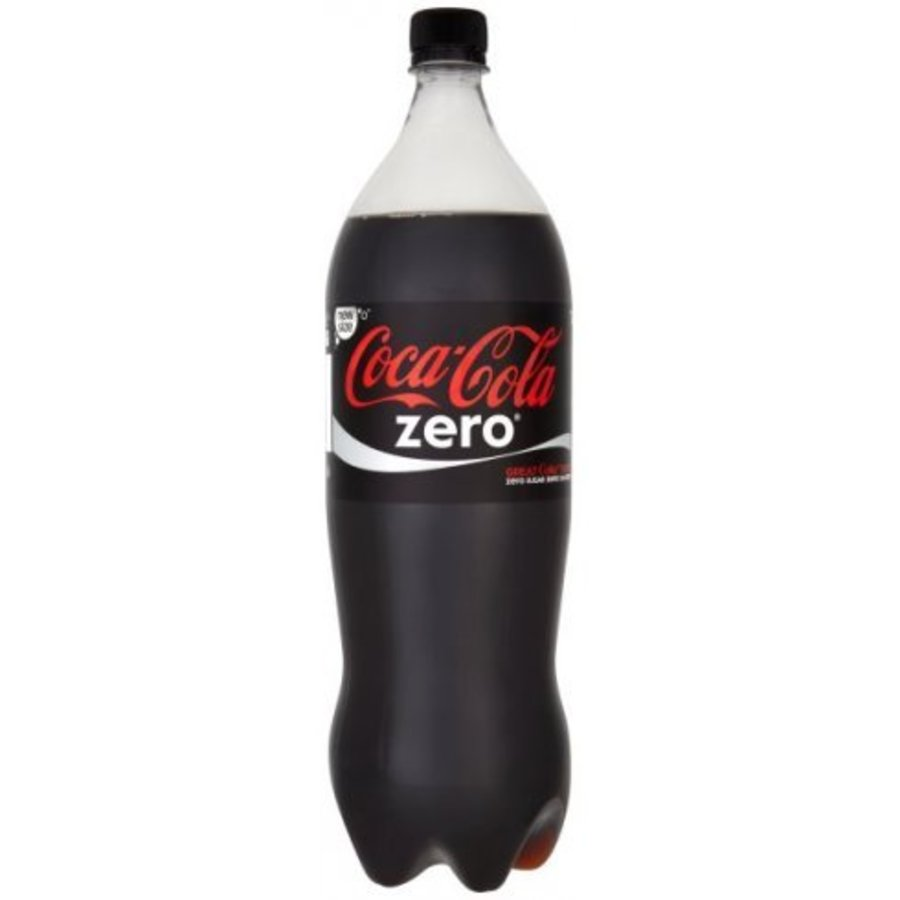 Coca Cola Zero - 9 x 1,5 liter