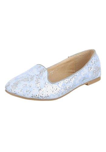 JULIET Damen Ballerinas - L.blue