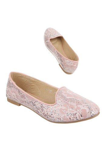 JULIET Dames Ballerinas - Roze