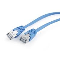 FTP Cat5e Patch cord, blue, 1 m