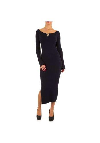 MOEWY Damen Kleid von Moewy Gr. one size - DK.blue