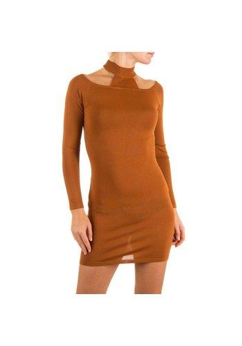 Neckermann Damen Kleid Gr. one size - camel