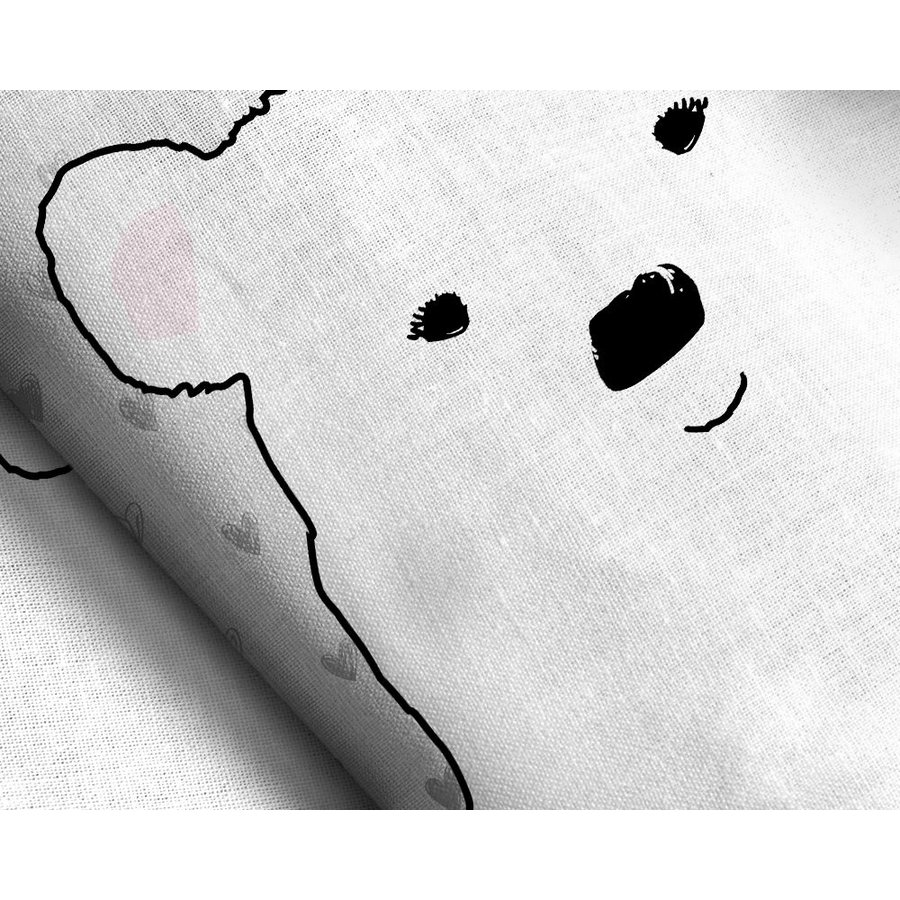Cute Bear Grey