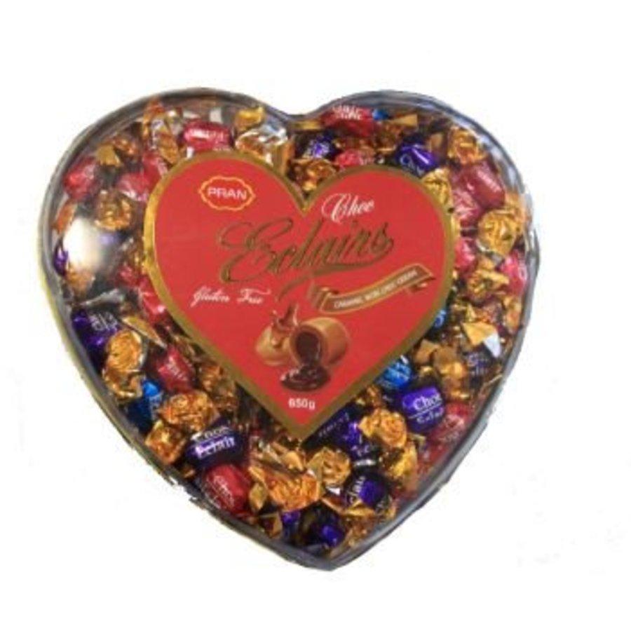 Hart caramel toffees met chocoladecrèmevulling 175g - Copy