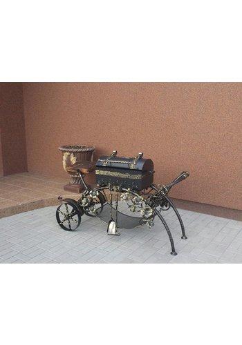 Kalmetal Houtskool barbecue (alleen afhalen)