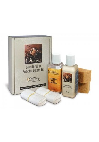 Leather Master Protection & cleaner kit voor leer