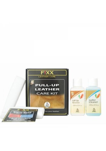 FiXX  Leather care kit  wax&oil