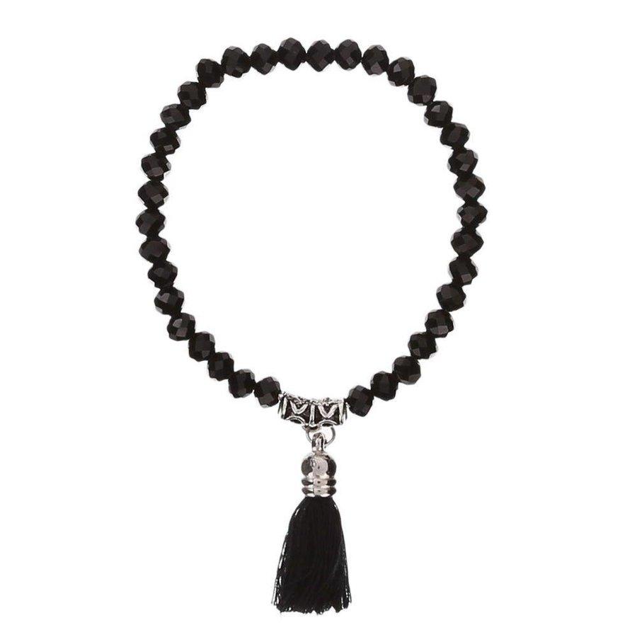 Damen Armband - black