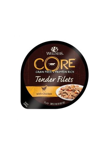 Wellness Core Tender Filets Kip&Wortel 170 g