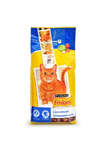 Purina Friskies rund & groenten voor gesteriliseerde katten 2 kg