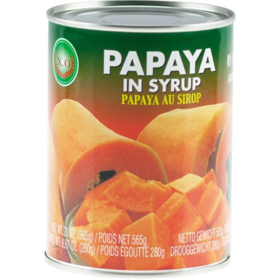 Papaya in siroop 565 gram