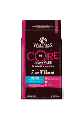 Wellness Core Grain Free Dog Small Breed Ocean zalm 1,5 kg