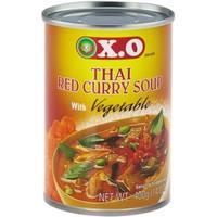 Thaise rode kerrie & groente soep 400 gram