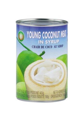 X.O Junges Kokosnussfleisch in Sirup 425 Gramm