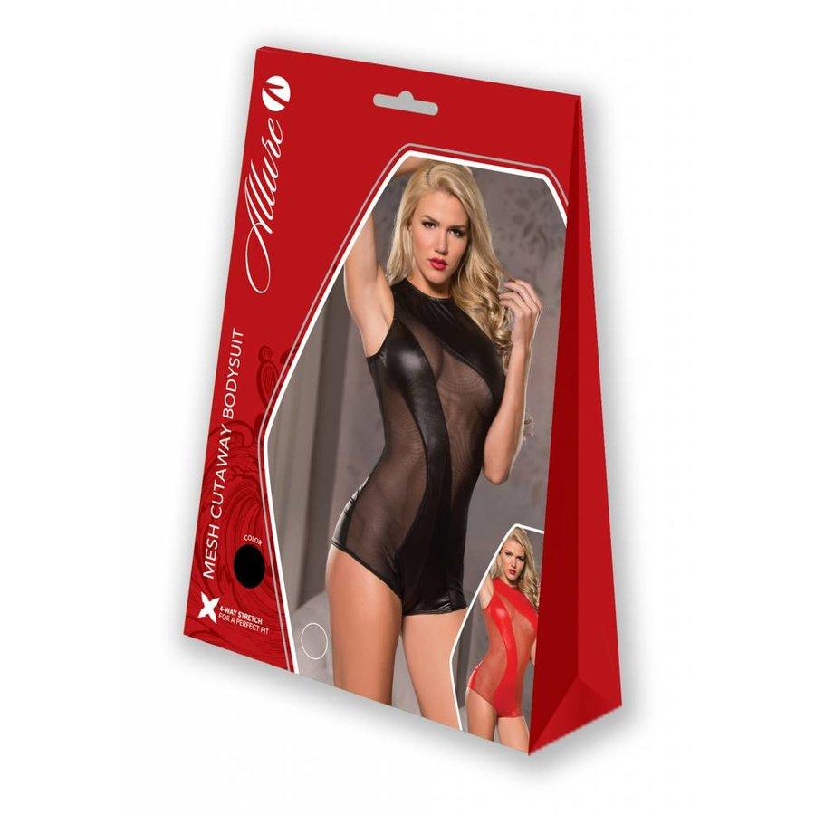 Mesh Cutaway Bodysuit