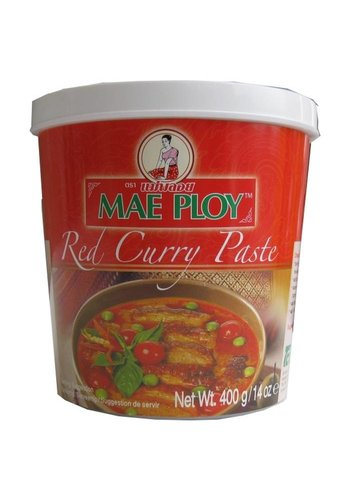 Mae Ploy Rote Currypaste 400 Gramm