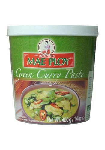 Mae Ploy Pâte de curry vert 400 grammes