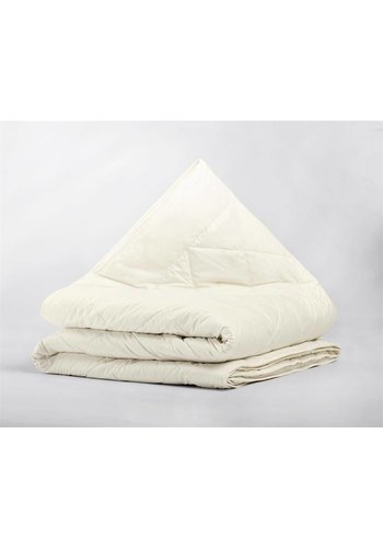 Sleeptime Percale Cotton Wool Touch 4-Seizoenen Dekbed Cream