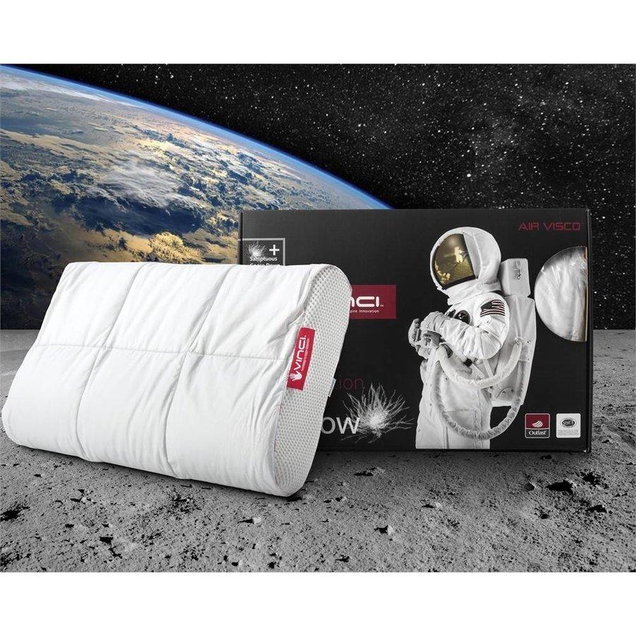 Vinci Down Deluxe Contour Pillow White