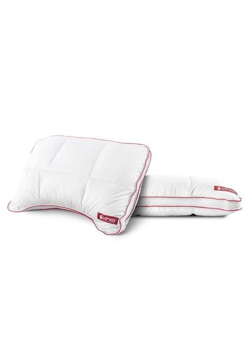Outlast Vinci Micropercal Deluxe Shoulder Pillow White
