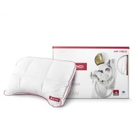 Vinci Micropercal Deluxe Shoulder Pillow White
