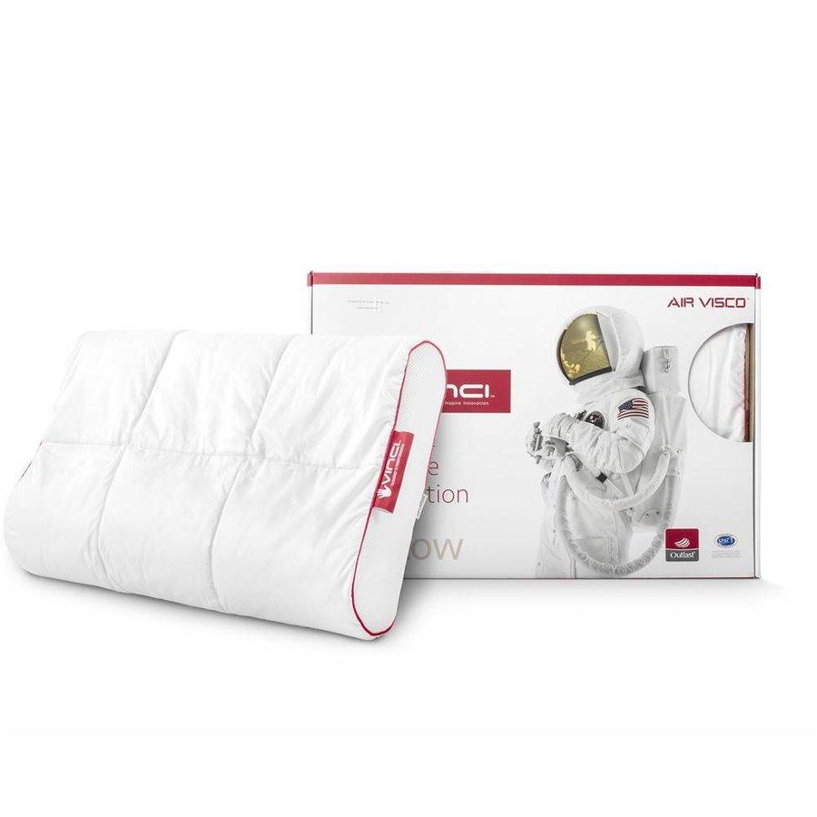Vinci Micropercal Deluxe Contour Pillow White