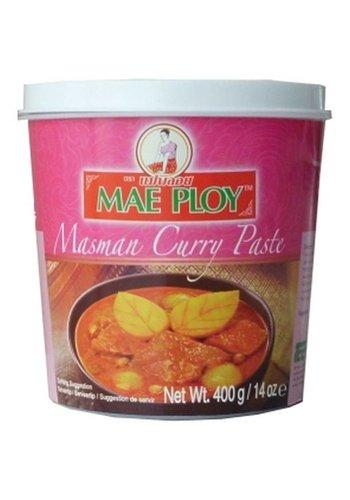 Mae Ploy Masman pâte de curry 400 grammes