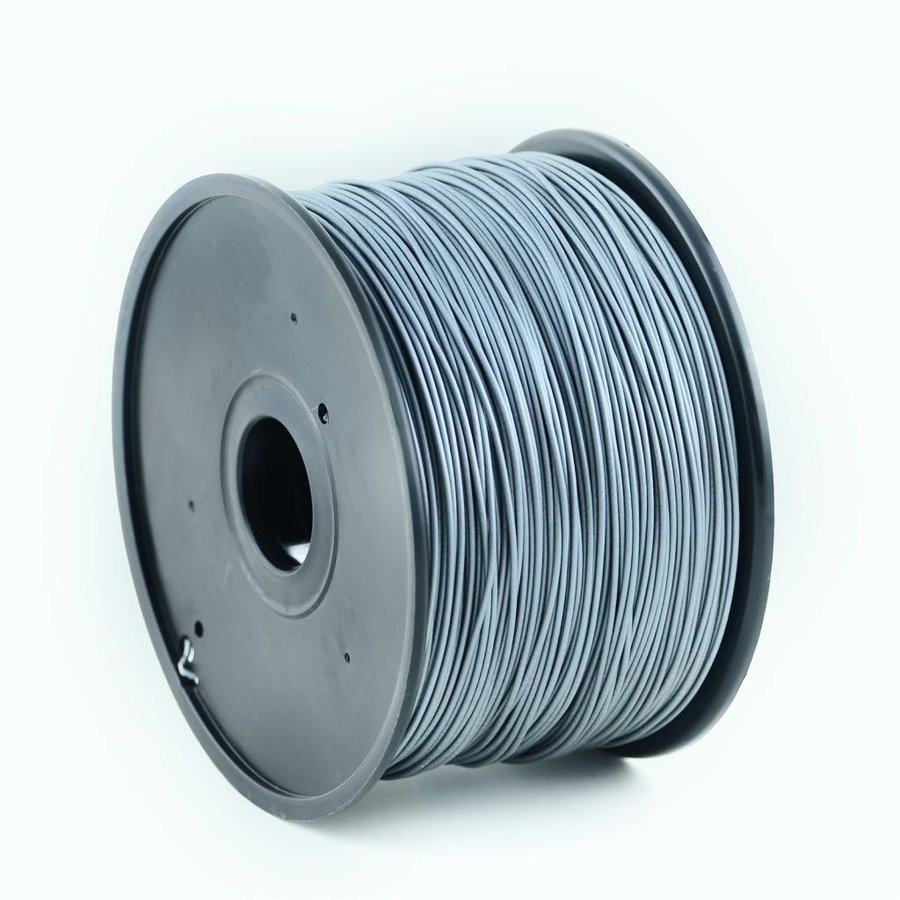 ABS Filament Silver, 3 mm, 1 kg