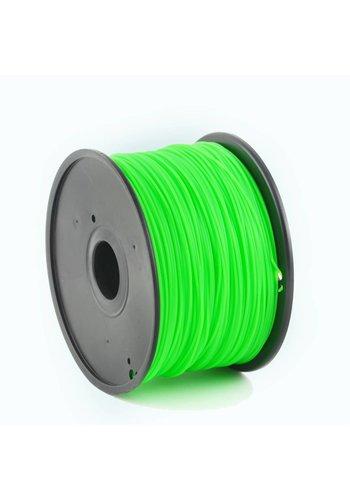 Gembird3 PLA plastic filament voor 3D printers, 3 mm diameter, groen