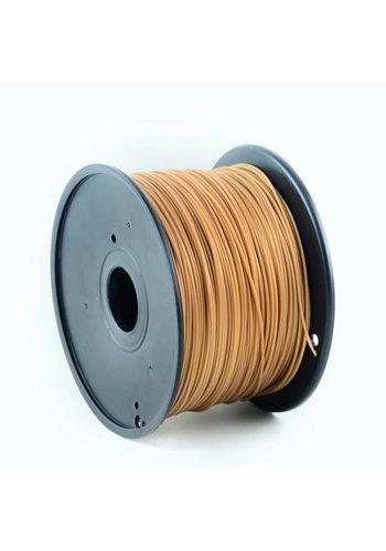 Gembird3 PLA plastic filament voor 3D printers, 3 mm diameter, goud