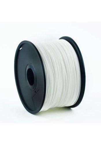 Gembird3 PLA White, 3 mm, 1 kg