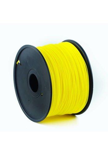 Gembird3 PLA plastic filament voor 3D printers, 3 mm diameter, geel