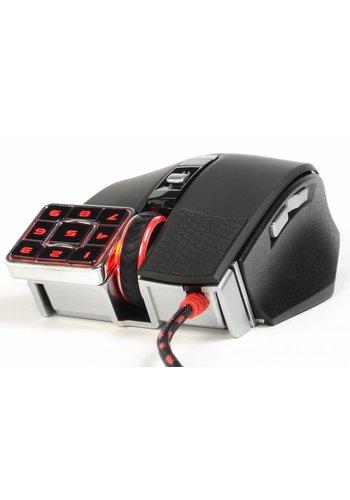 A4 Bloody Gaming muis 'Commander' met geintegreerde numpad, USB