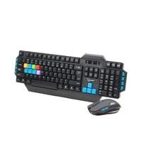 Wireless Gaming Tastatur und Maus Set, US Layout