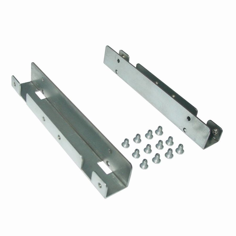Metal mounting frame for 2 pcs x 2.5'' SSD to 3.5'' bay
