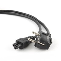 Power cord (C5), VDE approved, 3 m