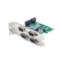 4 serial port PCI-Express Add-On Karte