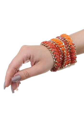Neckermann Damenarmband - orange