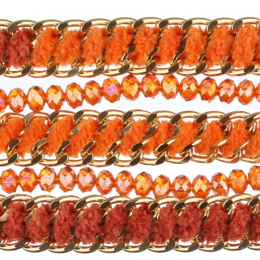 Damenarmband - orange